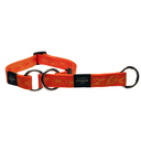 Rogz Alpinist Halsband mit Zugstopp Matterhorn Gr. M: Halsumfang 26 - 40 cm, orange