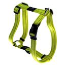Rogz Utility H-Geschirr für Hunde Nitelife Gr. S: Halsumfang 20 - 34 cm, Brustumfang 23 - 37 cm, gelb