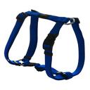 Rogz Utility H-Geschirr für Hunde Nitelife Gr. S: Halsumfang 20 - 34 cm, Brustumfang 23 - 37 cm, blau