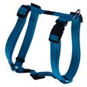 Rogz Utility H-Geschirr für Hunde Nitelife Gr. S: Halsumfang 20 - 34 cm, Brustumfang 23 - 37 cm, türkis