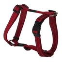 Rogz Utility H-Geschirr für Hunde Nitelife Gr. S: Halsumfang 20 - 34 cm, Brustumfang 23 - 37 cm, rot