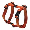 Rogz Utility H-Geschirr für Hunde Nitelife Gr. S: Halsumfang 20 - 34 cm, Brustumfang 23 - 37 cm, orange