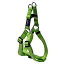 Rogz Utility Step In Geschirr für Hunde Nitelife Gr. S: Halsumfang 20 - 30 cm, Brustumfang 23 - 37 cm, lime
