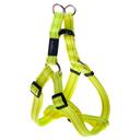 Rogz Utility Step In Geschirr für Hunde Nitelife Gr. S: Halsumfang 20 - 30 cm, Brustumfang 23 - 37 cm, gelb