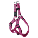 Rogz Utility Step In Geschirr für Hunde Nitelife Gr. S: Halsumfang 20 - 30 cm, Brustumfang 23 - 37 cm, pink