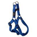 Rogz Utility Step In Geschirr für Hunde Nitelife Gr. S: Halsumfang 20 - 30 cm, Brustumfang 23 - 37 cm, blau