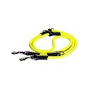 Rogz Rope Hundeleine verstellbar Länge 2 m, Breite 9 mm, gelb