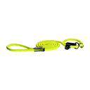 Rogz Rope Moxonleine für Hunde Länge 1,80 m, Breite 9 mm, gelb
