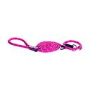 Rogz Rope Moxonleine für Hunde Länge 1,80 m, Breite 12 mm, pink
