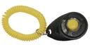 Starmark Pro-Training Clicker schwarz / gelb, DELUXE mit elastischem Band