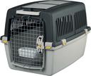 Transportbox Hund Gulliver, IATA Flugbox Gulliver 4: 72x52x51 cm, dunkelgrau/hellgrau
