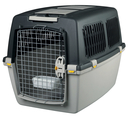 Transportbox Hund Gulliver, IATA Flugbox Gulliver 5: 79x60x58 cm, dunkelgrau/hellgrau