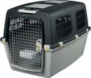 Transportbox Hund Gulliver, IATA Flugbox Gulliver 6: 92x64x64 cm, dunkelgrau/hellgrau