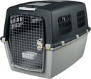 Transportbox Hund Gulliver, IATA Flugbox Gulliver 7: 102x75x73 cm, dunkelgrau/hellgrau