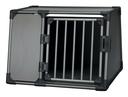 Trixie Autobox für Hunde aus Aluminium, graphit L: 92 × 64 × 78 cm, graphit