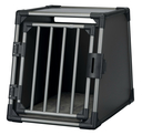 Trixie Autobox für Hunde aus Aluminium, graphit M: 55 × 61 × 74 cm, graphit