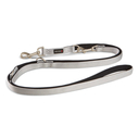 Wolters Hundeleine Professional Comfort S: 200cm x 10mm silber/schwarz